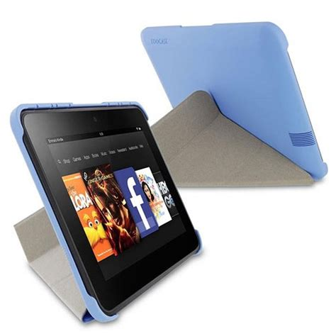 Origami Kindle Hd - roocase origami slimshell for kindle hd 7 quot blue