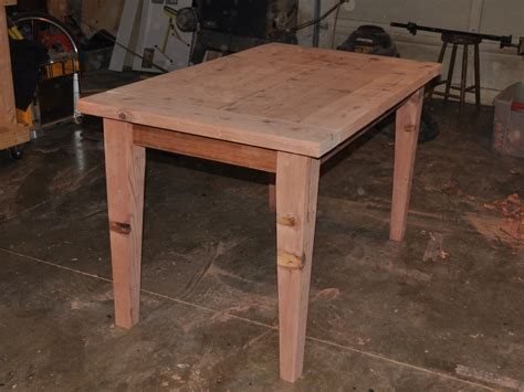How To Build A Wood Desk by Make A Wooden Table That Is Easily Disassembled Make