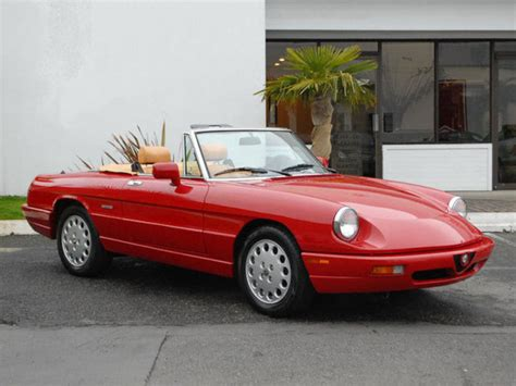 Alfa Romeo Spider 1991 by Classic Italian Cars For Sale 187 Archive 187 1991 Alfa