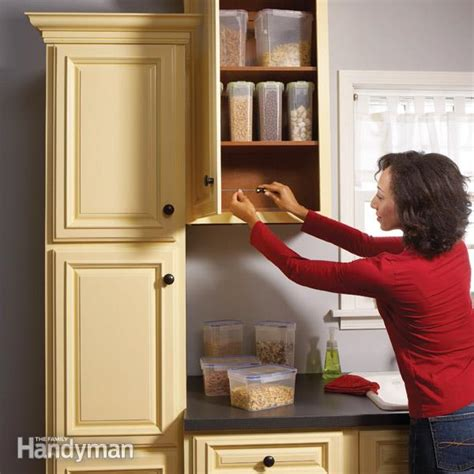 kitchen cabinets repair home repair how to fix kitchen cabinets the family handyman