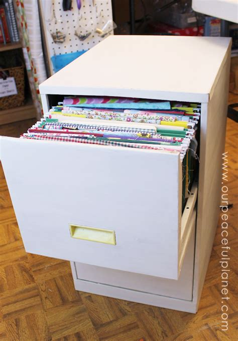 how to organize file cabinet organize fabric with a file cabinet