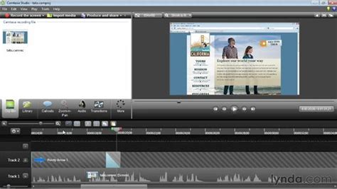 tutorial editing video camtasia basic timeline editing