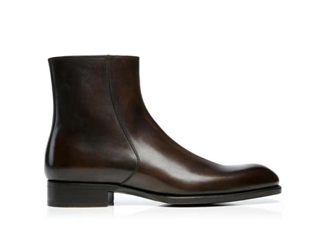 Burnished Chelsea Boots edward burnished leather zip chelsea boot boot shop