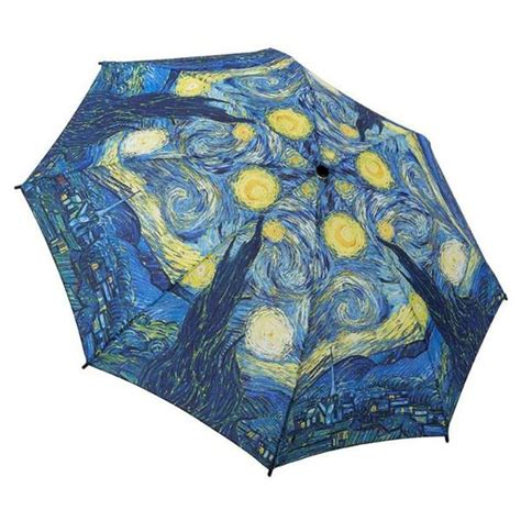 starry night  van gogh folding umbrella  getty store