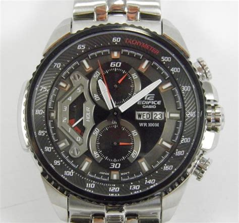 Casio Edifice Ef 558 Oribm casio edifice chronograph ef 558 mens wrist catawiki