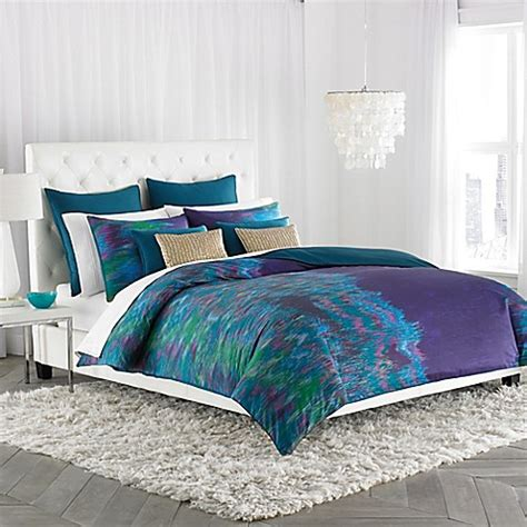 amy sia midnight comforter set in blue bed bath beyond