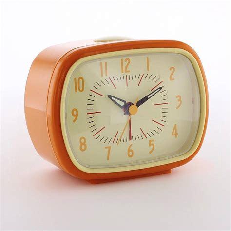 retro alarm clock   love retro notonthehighstreetcom