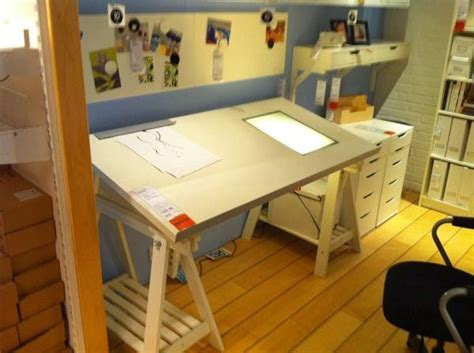 Drafting Table Ikea Drawing Table With Light Box Ikea Drafting Table With Light Box Image Search Results Artists