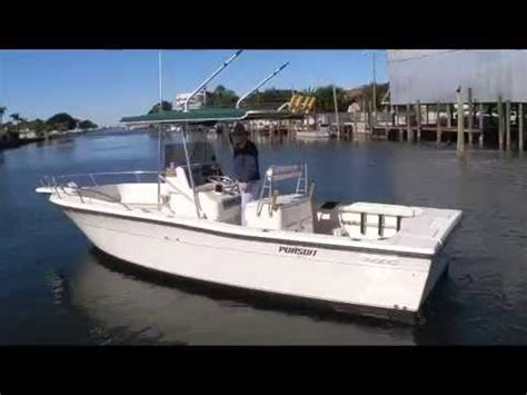 center console boats diesel pursuit 2600 diesel center console youtube
