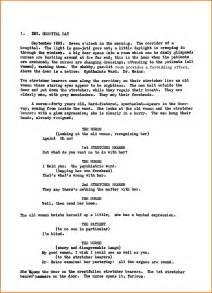 6 film script examples financial statement form