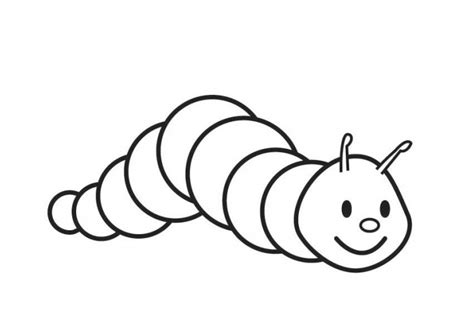 caterpillar template caterpillar coloring pages coloring book