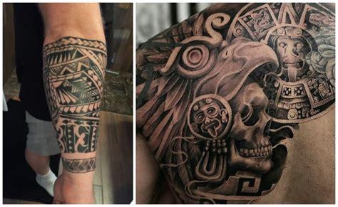 imagenes tatuajes aztecas y mayas tatuajes aztecas el poder ancestral de una civilizaci 243 n