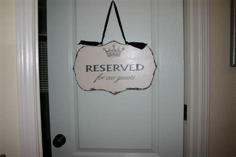 This Room Is Reserved Sign by Home Is Where The Is April 2010