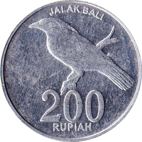 Coin Bali 200 rupiah indonesia numista