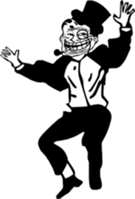 Dancing Troll Meme - rapper dancing troll emoticon emoticons and smileys for
