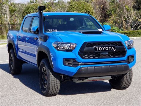 2019 Toyota Tacoma News by New 2019 Toyota Tacoma Trd Pro Cab In Clermont