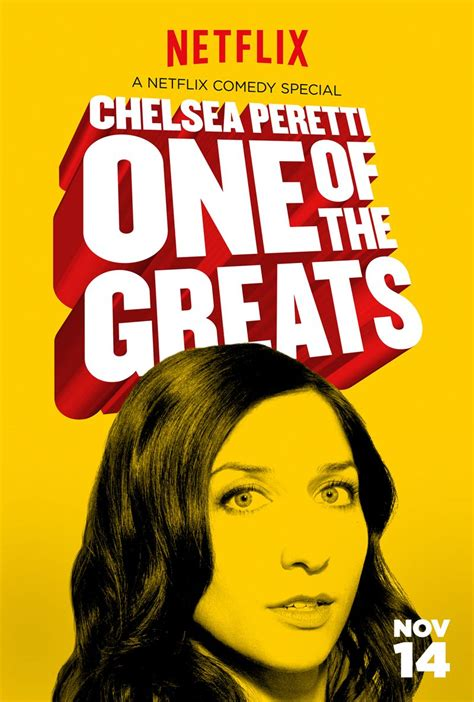 chelsea peretti one of the greats trailer chelsea peretti one of the greats trailer and poster