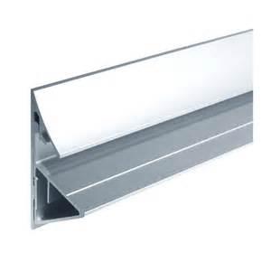 profil aluminium support tablette en verre d 233 paisseur 12