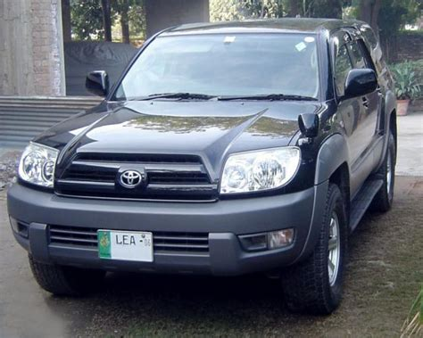 toyota surf 2003 toyota surf 2003 blue and white color for sale lahore
