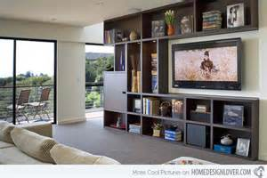 Living Room Built In Tv 15 Ideas For Tv Built In Media Wall In Modern Living Rooms