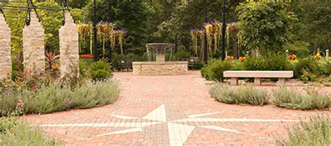 Compass Gardens by Gardens Ewing Manor Cultural Center Illinois State