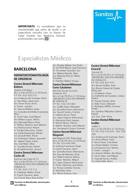 cuadro medico de sanitas en madrid free download cuadro medico asisa madrid 2013 pdf programs