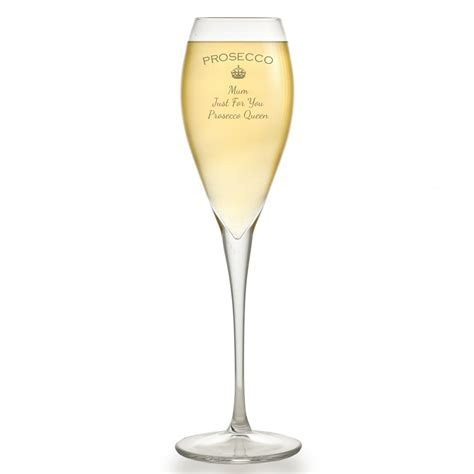 Personalised Prosecco Glass Flute