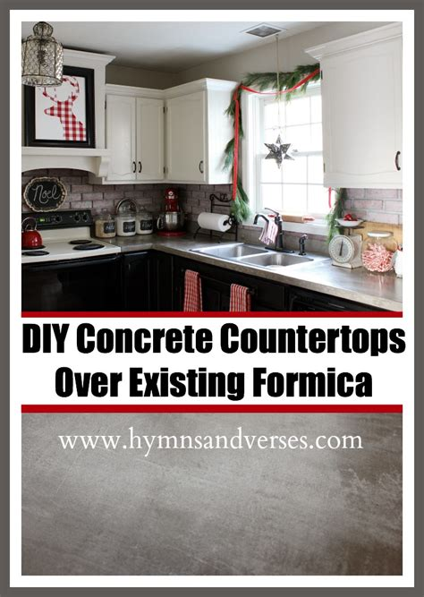 How To Change Formica Countertops by Diy Concrete Countertops Existing Formica Hymns And