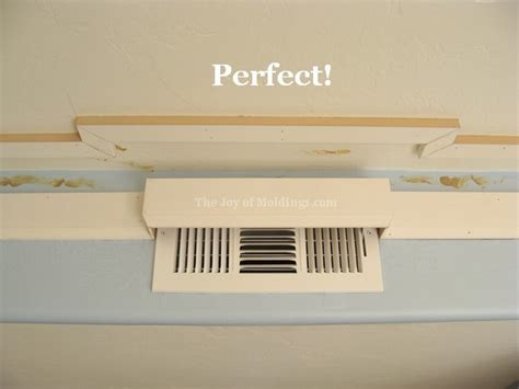 Cornice Vent kitchen crown molding installation cornice molding the of moldings