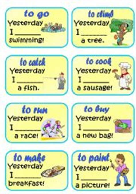 teaching tenses ideas for 0952280868 english teaching worksheets past tense
