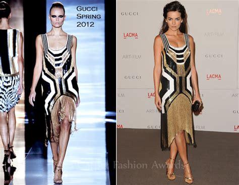 Catwalk To Carpet Camilla In Gucci by Camilla In Gucci Lacma S And Gala