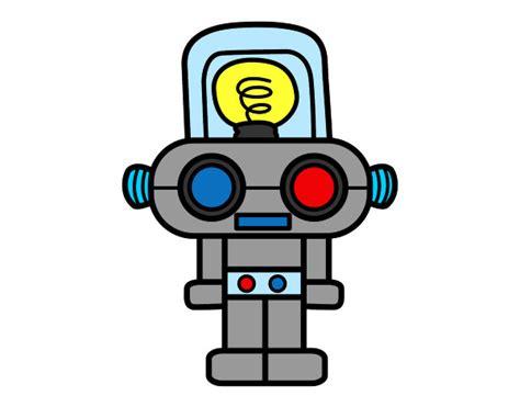 imagenes de goku robot dibujo de robot con luz pintado por chase en dibujos net