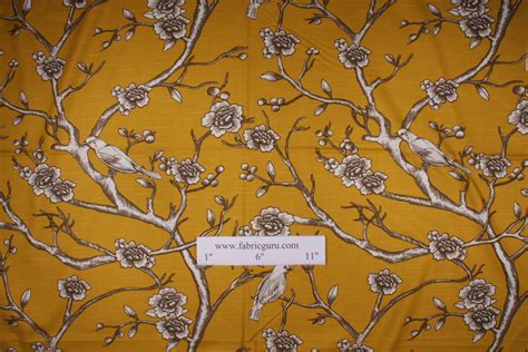 vintage drapery fabric robert allen vintage blossom printed cotton drapery fabric