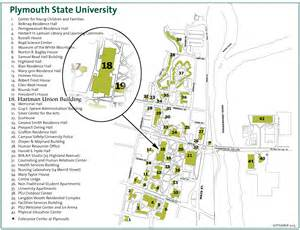 Plymouth State University Map how to find us hartman union building plymouth state
