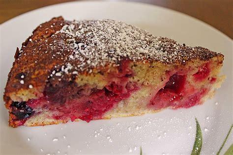 schneller kuchen mit gefrorenen himbeeren schneller kuchen mit tk himbeeren beliebte rezepte f 252 r