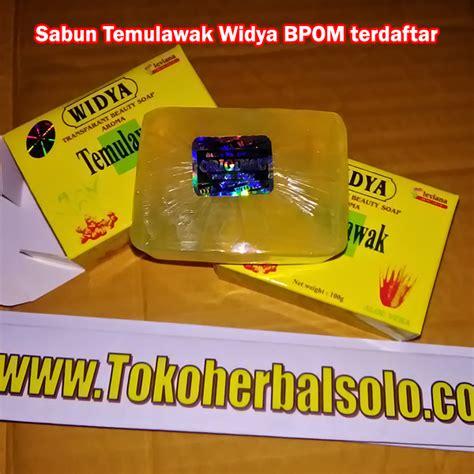 Sabun Temulawak Baru sabun herbal temulawak widya ber bpom ori toko herbal