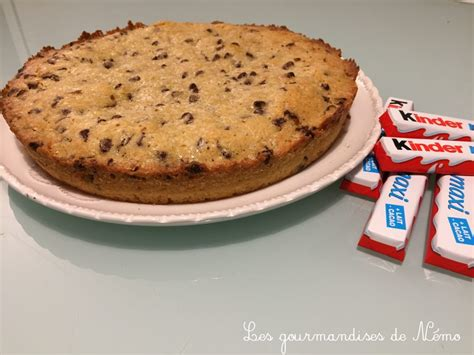 C Est Bon Cherish Cookie Small tarte cookie aux kinders les gourmandises de n 233 mo