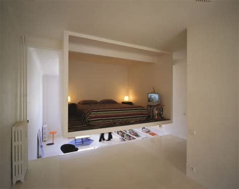 bedroom cubes floating cube apartment shoebox dwelling finding