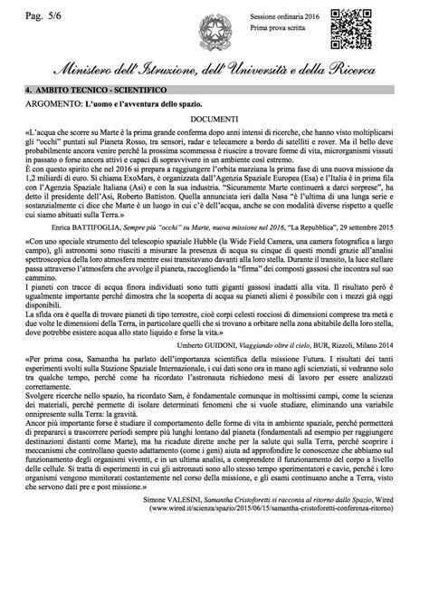 testo di italiano maturit 224 le tracce ufficiali della prima prova di