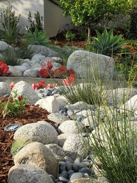Rock Garden Bed Ideas 89 Best River Bed Ideas Xeroscaping Images On Pinterest