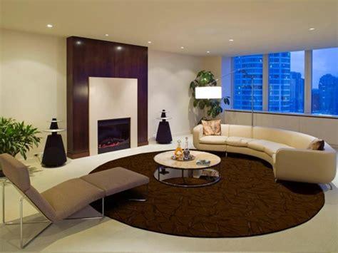 teppich rund wohnzimmer teppich rund 40 innendesigns mit rundem teppich die