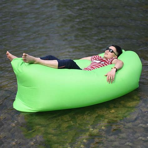 inflatable pool couch inflatable sofa air bed beach lazy sleeping sofa mattress
