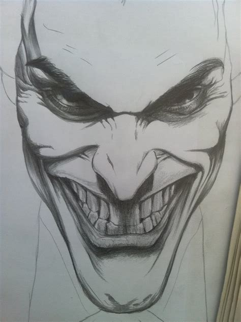 Drawing Joker by The Joker Initial Sketch By Guardianofevermore On Deviantart