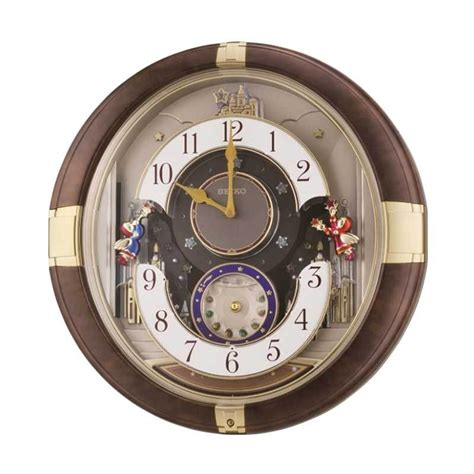 Jam Dinding Seiko Qxm363b Pendulum Melodies jual seiko qxm333b westminster melodies in motion led light wall clock jam dinding
