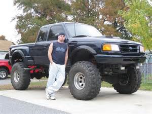 Lifted Ford Rangers 1995 Ford Ranger On 38s 1 100231616 Custom Lifted