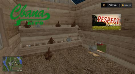 Chicken Ls chicken coop v 1 0 0 for ls 17 farming simulator 2017