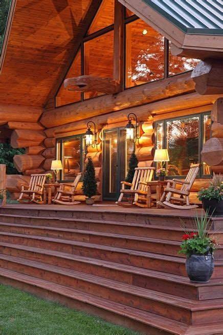 cabin porch beautiful back porch and log quot cabin quot cabins pinterest