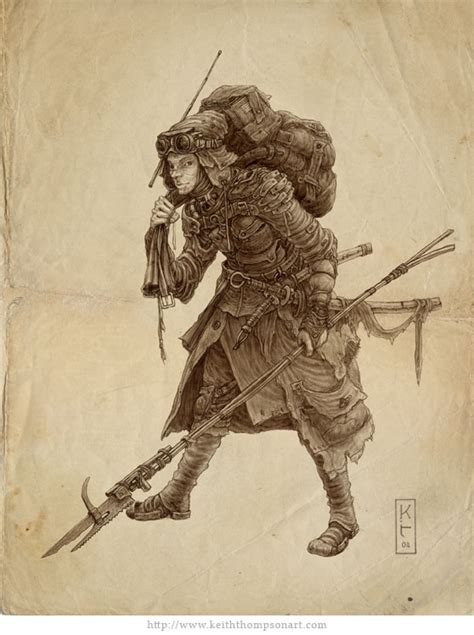 scavenger by keithwormwood on deviantart