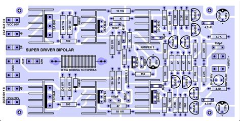 layout pcb power lifier 2000 watt all driver power amp and pcb february 2014