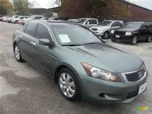 2008 mystic green metallic honda accord ex v6 sedan